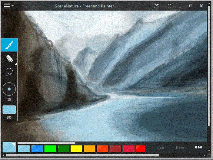 Create Beautiful Touchscreen Art With Freehand Painter