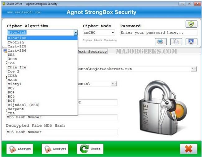 4 Files That Make Encryption a Breeze - MajorGeeks