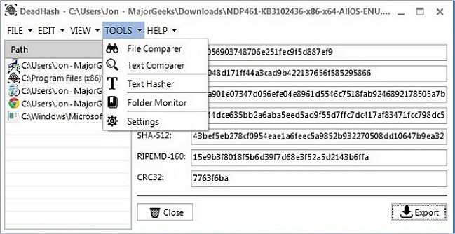 5 Free Solutions to Verify File Hashes - MajorGeeks