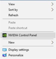 How to Remove the NVIDIA Control Panel From the System Tray