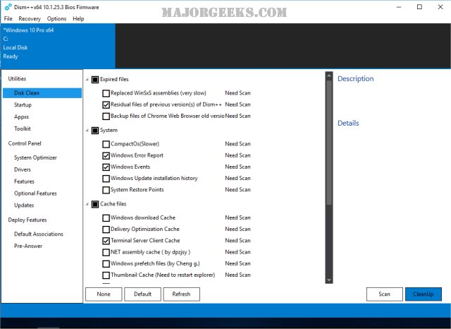 how to clean windows 7 update backups