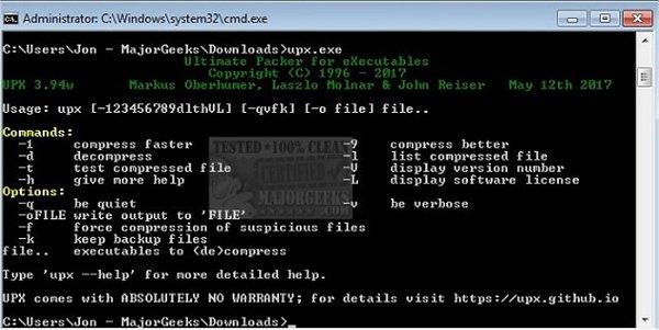 upx tool 1.03