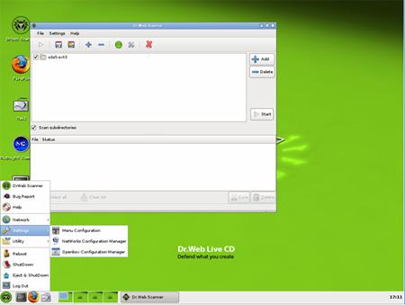 Dr. Web LiveCD 6.0.0 (06/02/2012)