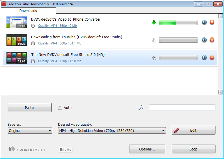 DVDVideoSoft Free YouTube Download 3.11.22.508