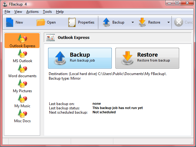 FBackup 4.6.261 Multi-language