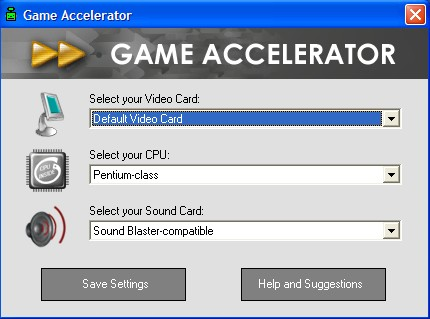 Game Accelerator Screen shot