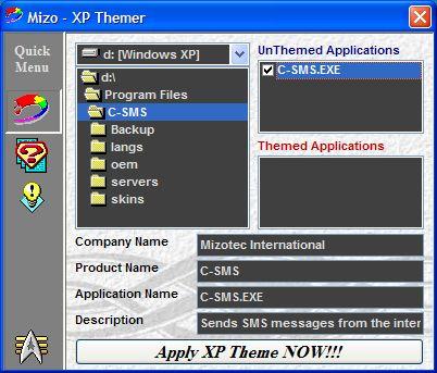 Mizo - XP Themer 1.2