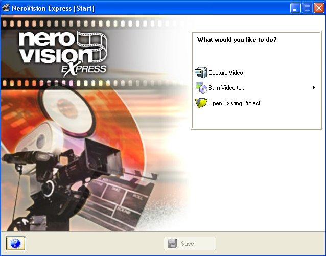 nero vision express 2.1.2.18