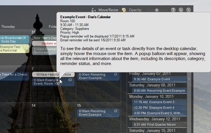 VueMinder Calendar Lite 9.0.3