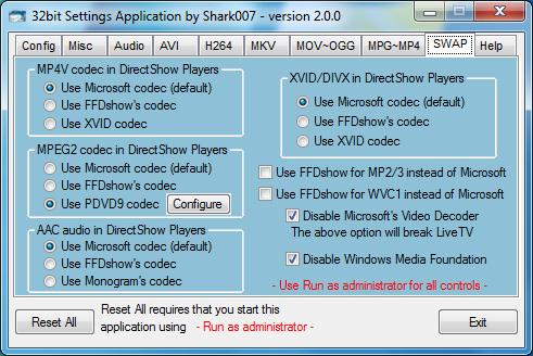 حصريا برنامج الترميزللوندوز Win7codecs 3.5.4 | 27.1MB
